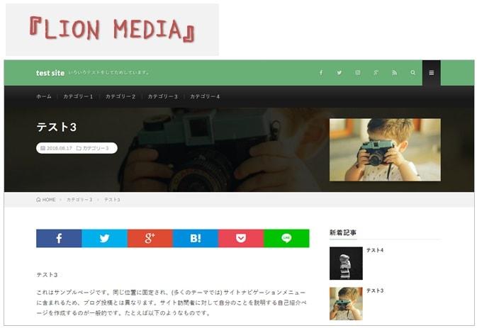 『LION MEDIA』投稿ページアイキャッチ
